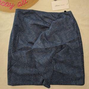 Lovers + Friends Blue Annie Skirt NWT XXS